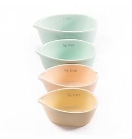 Amigos Measuring Cups - Cloud -  Ceramic -Set of 4