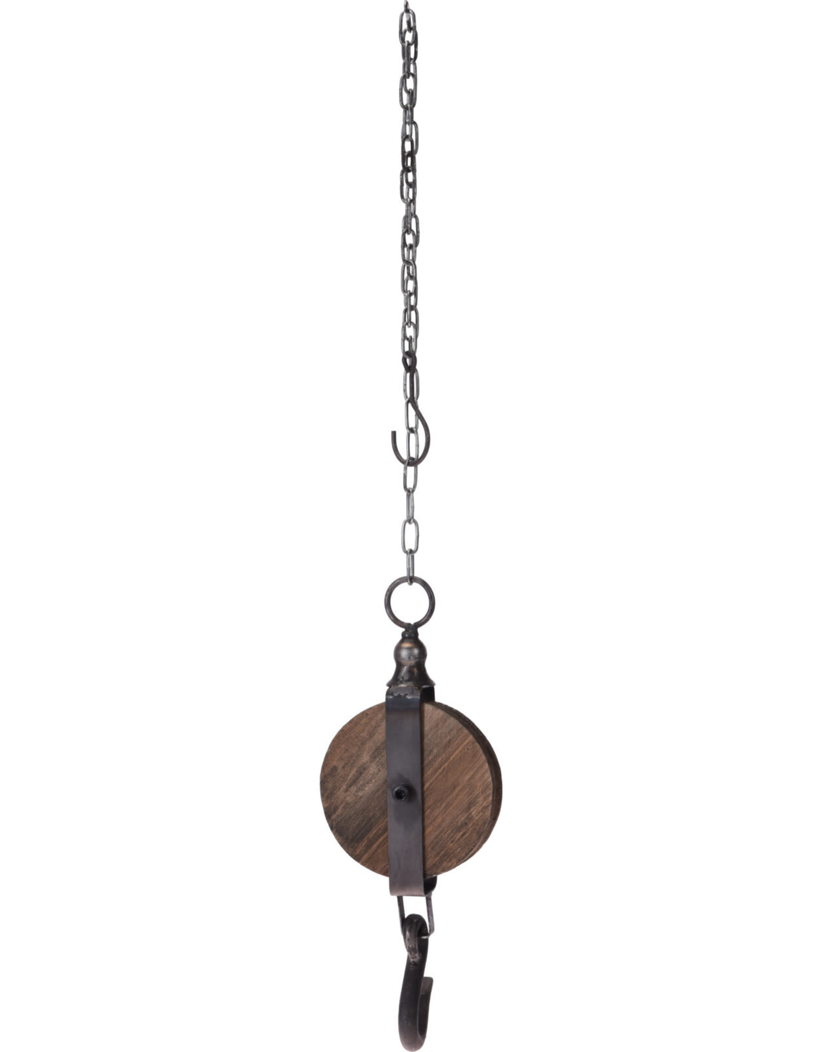 Koopman Decoration Pulley Wood