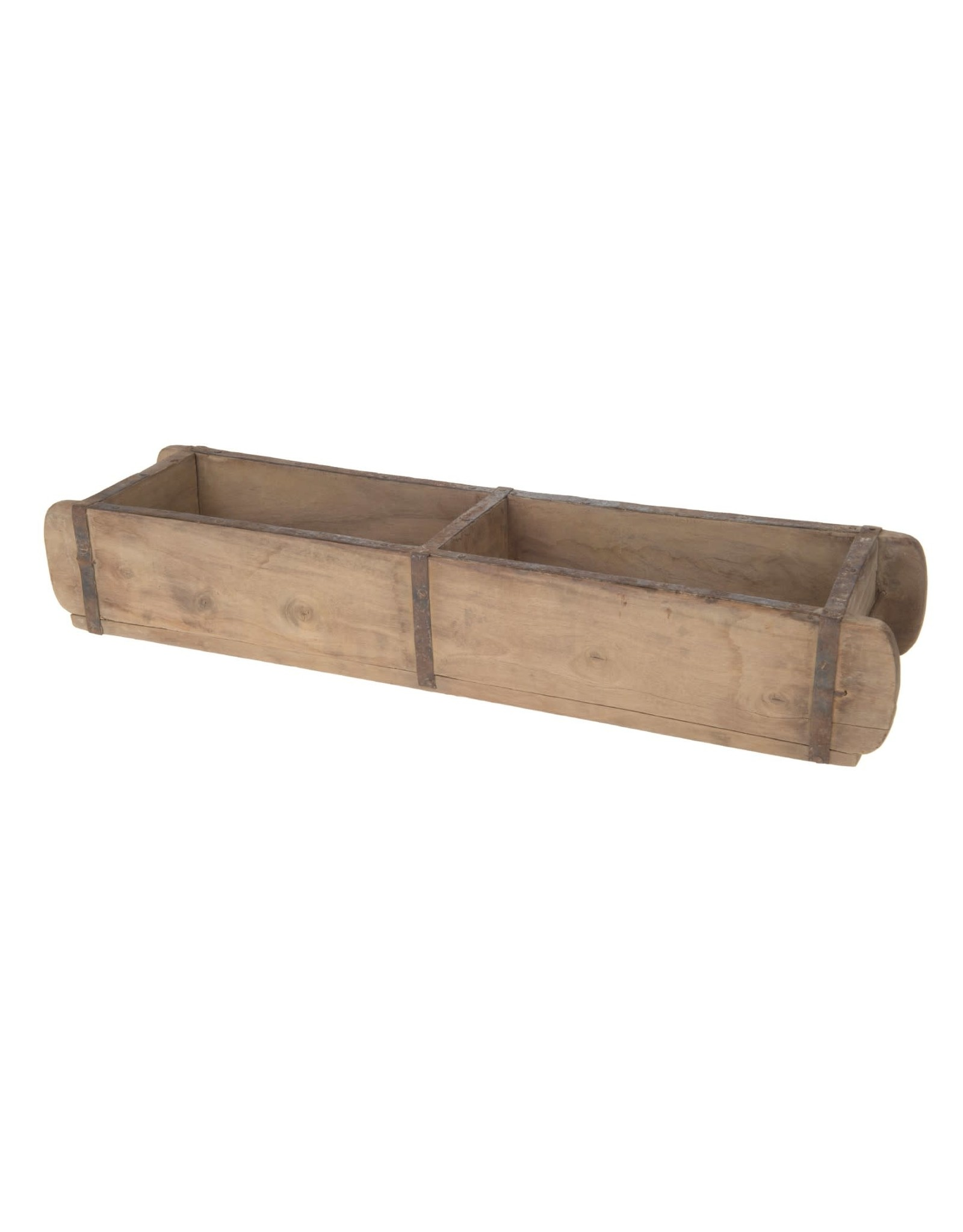 Dijk Double Brick Mould Wood 58x10x10cm