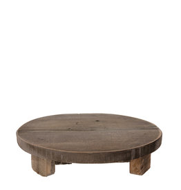 Dijk Tray with Feet Historic Wood