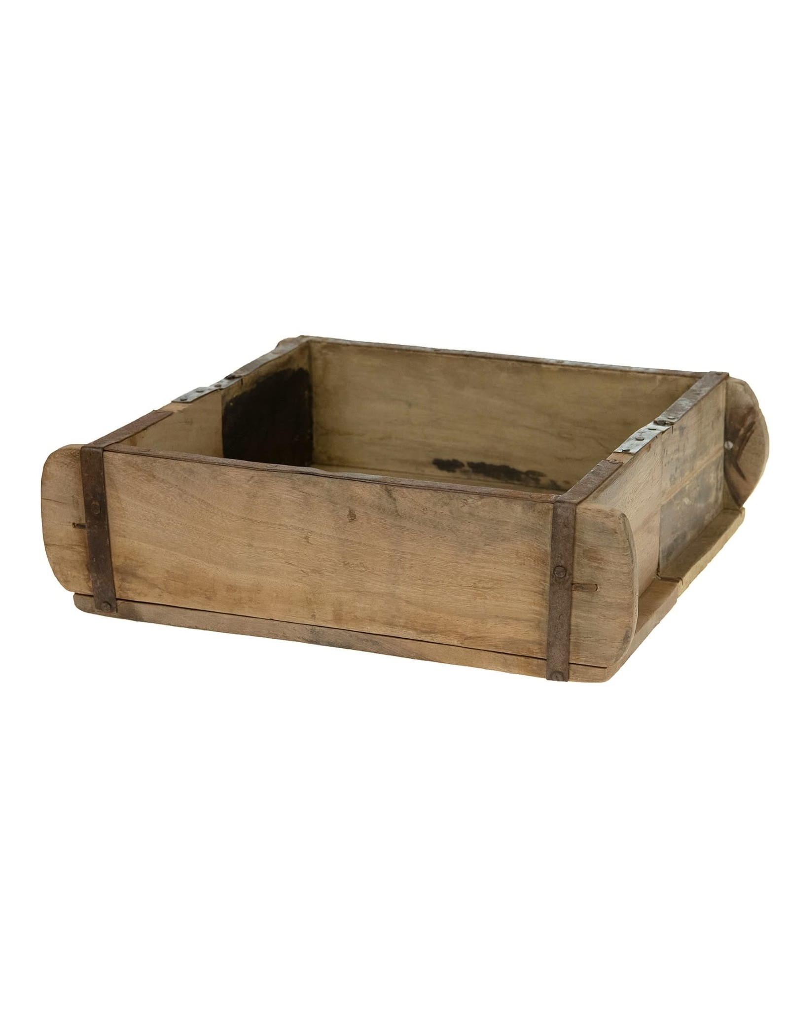 Dijk Brick Mould Large Recycled Wood 31x23x10cm