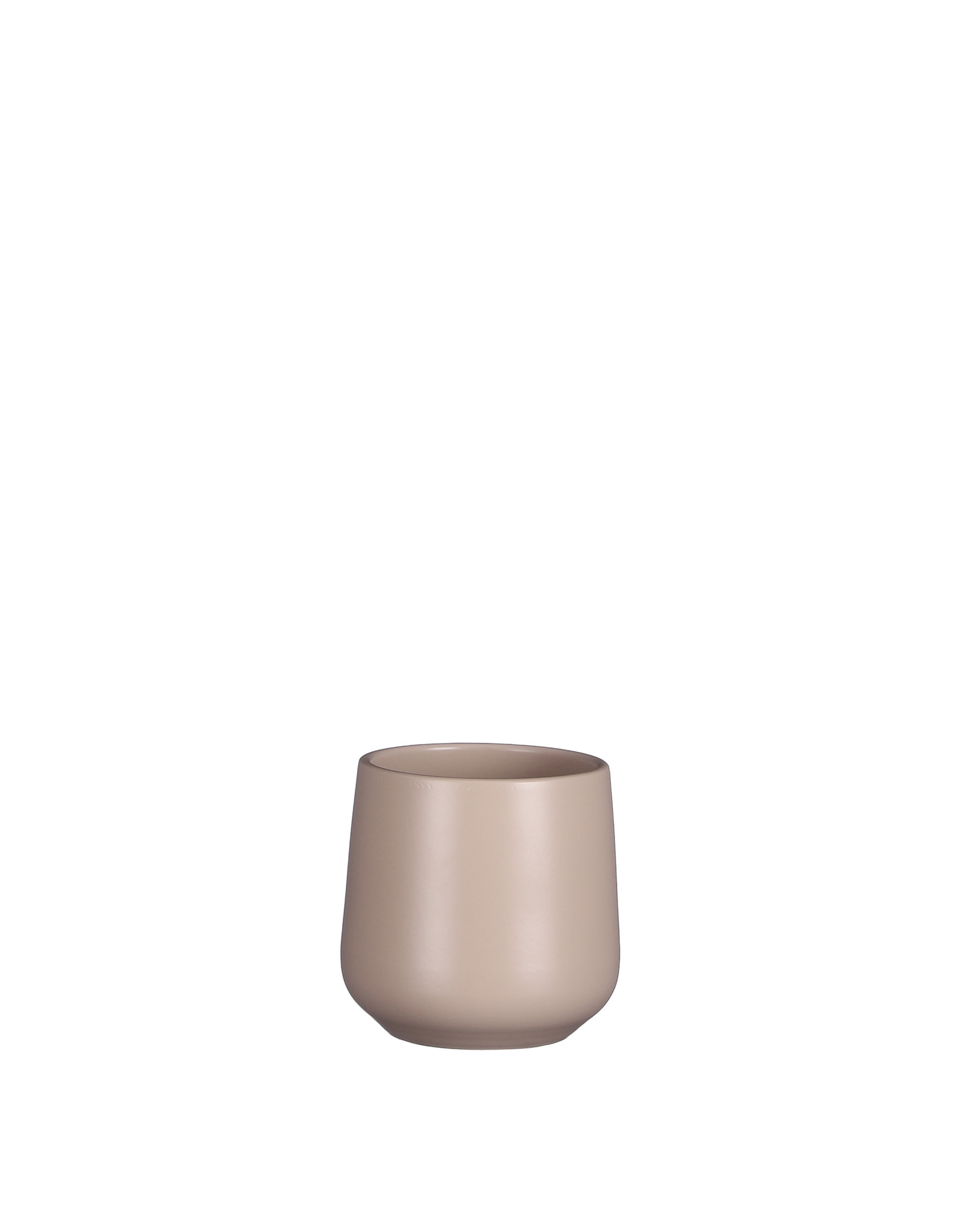 Mica Amber Pot Round