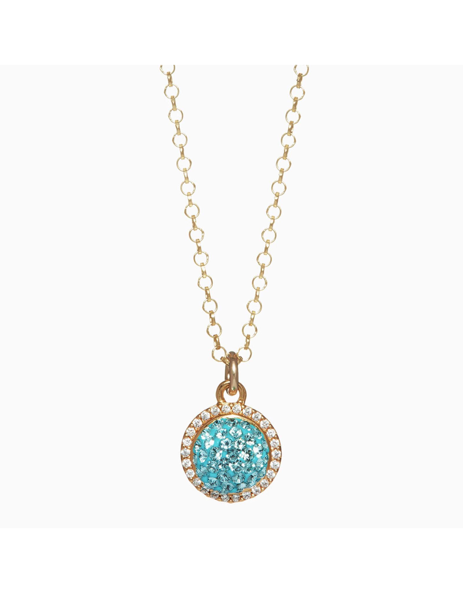 Hillberg & Berk H&B - Sparkle Ball Halo Necklace Pendant