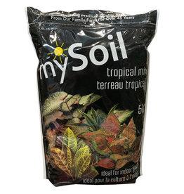 mySoil Tropical Mix 5L - 300/plt - 10/cs