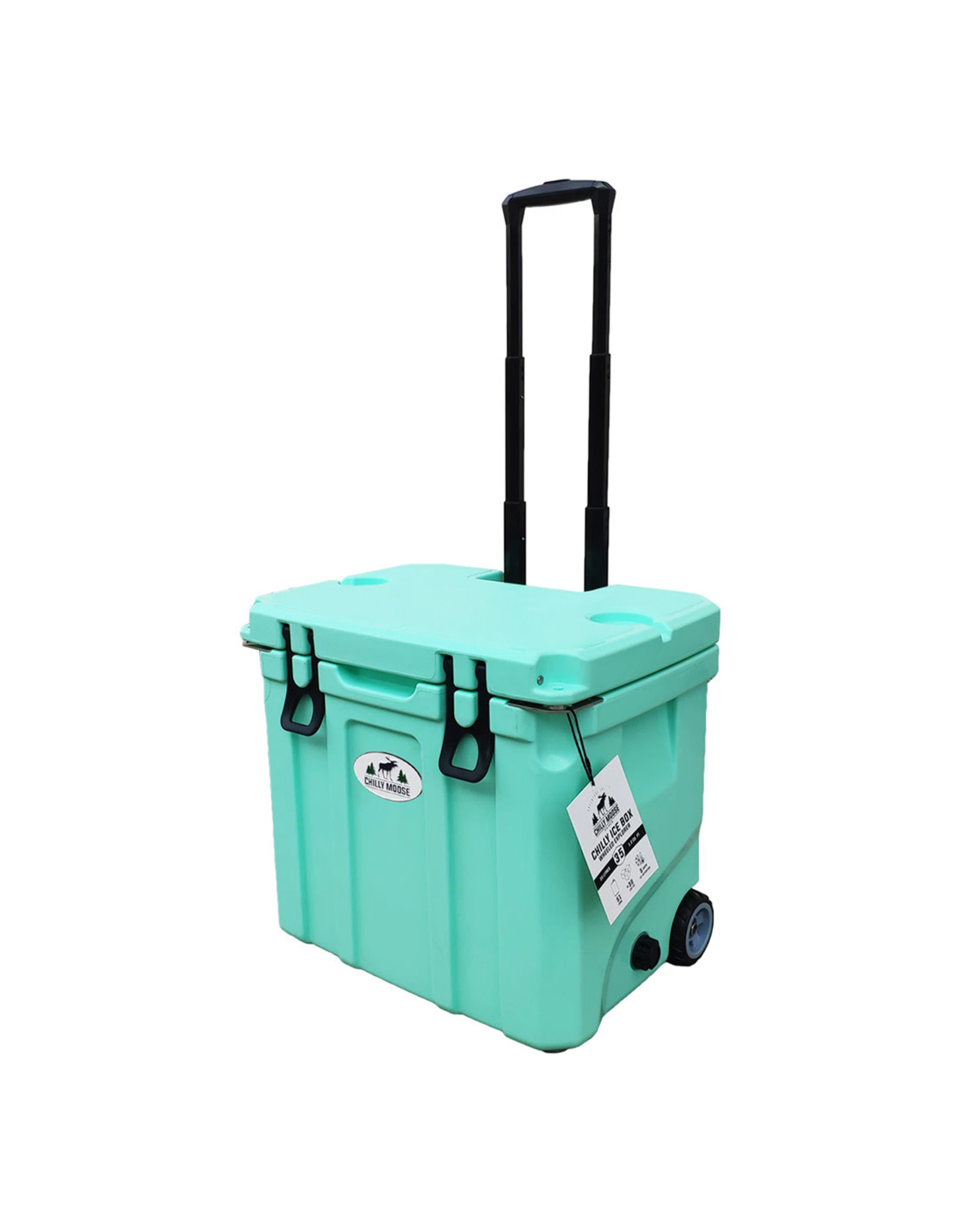 35 Ltr Cooler w/ Wheels