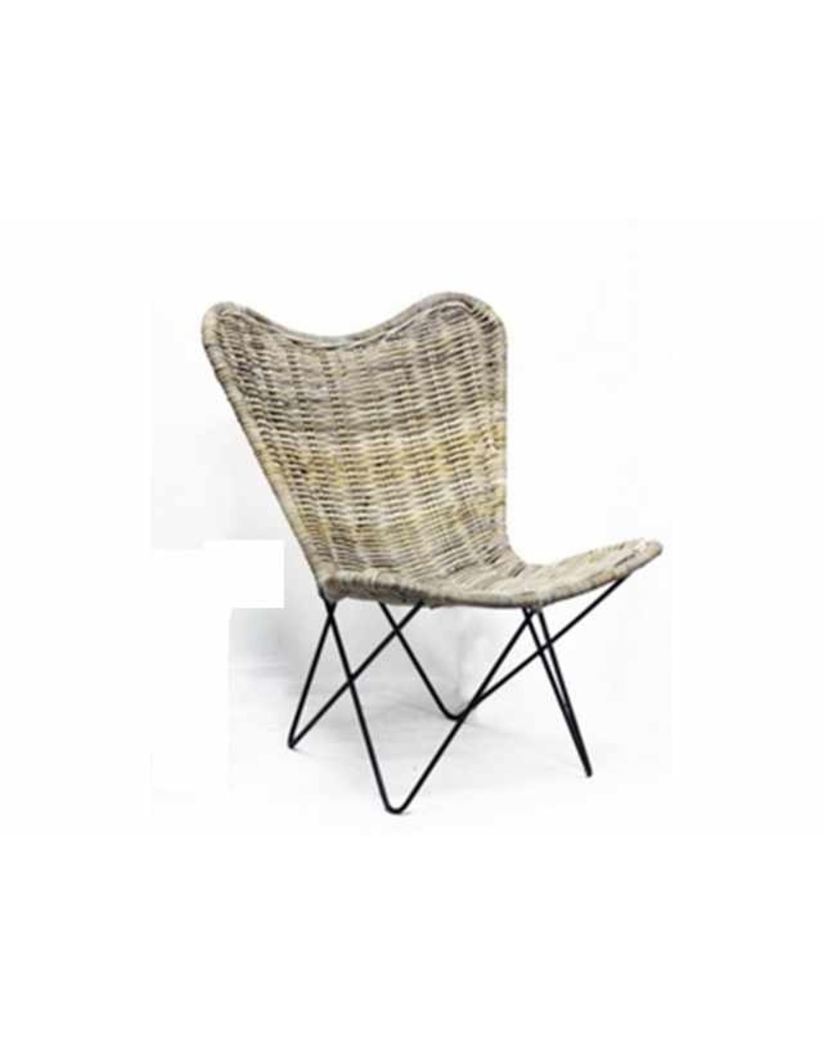 Van der Leeden Mandwerk Butterfly Chair  60X64H80cm