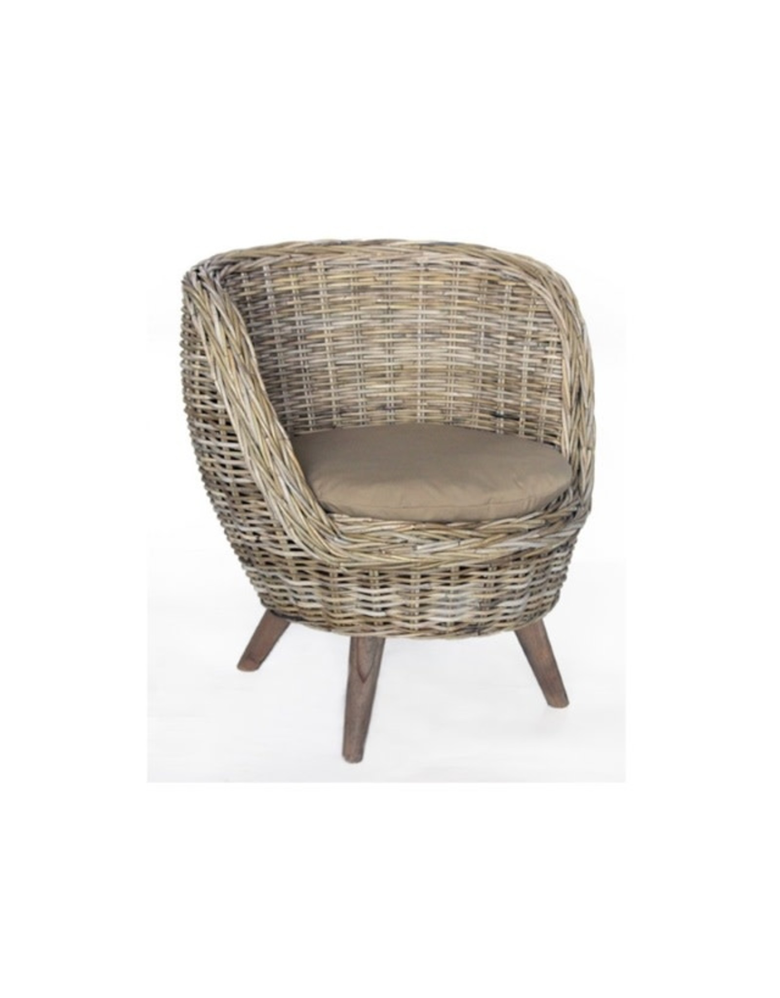 Van der Leeden Mandwerk Bucket Chair Round 82X77H70cm