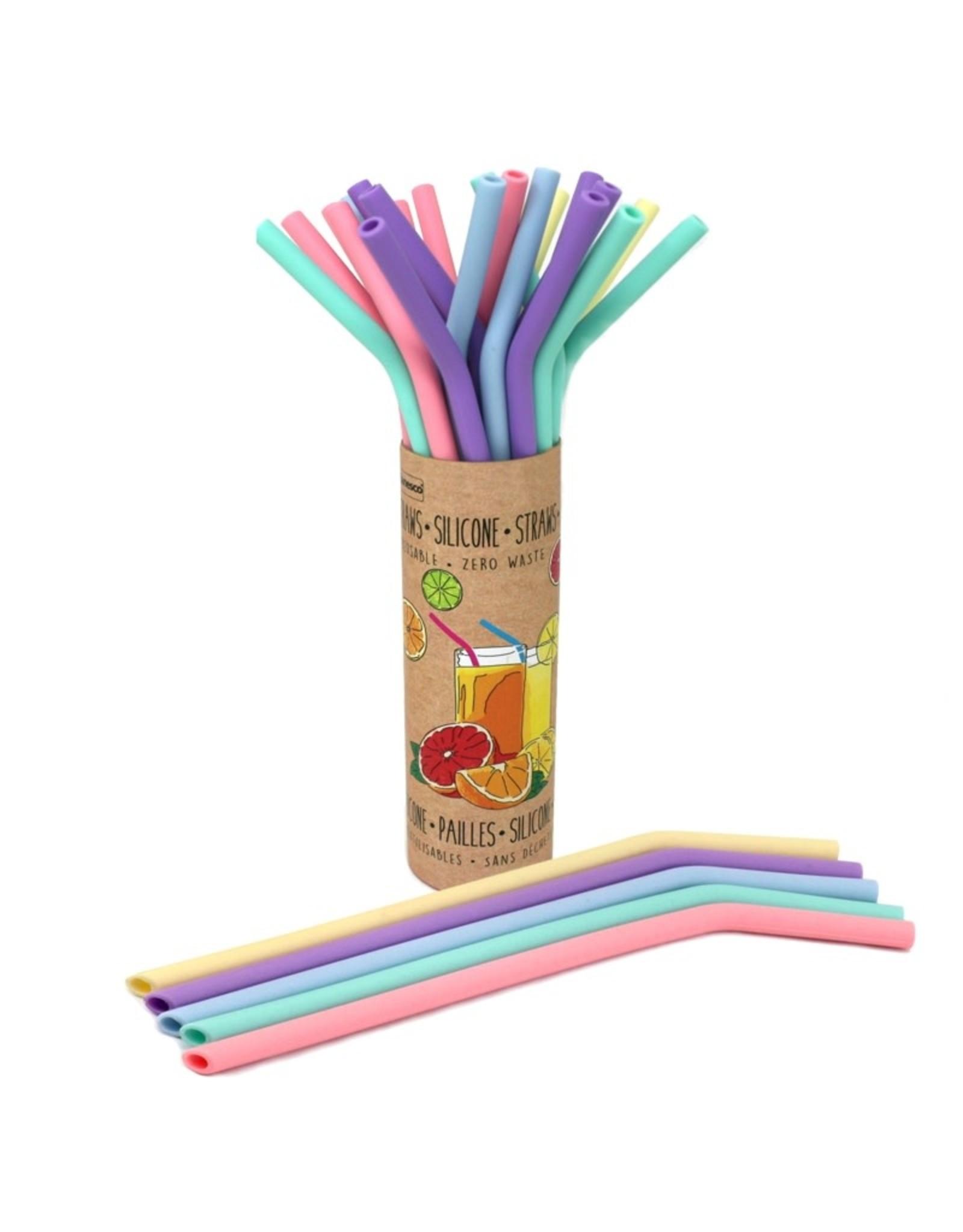 Danesco Danesco - Reusable Silicone Straws - each
