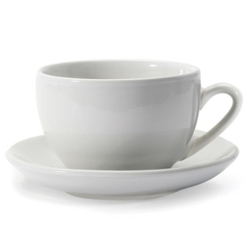 Danica Danesco - Jumbo Cup & Saucer - White