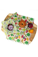 Danesco Beeswax Food Wraps -3 pk - Fruit & Veggie Print