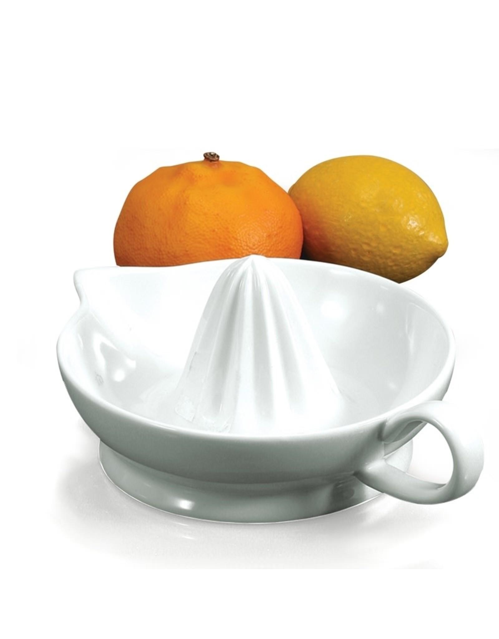 Bia Bia - Citrus Juicer - One Piece White Ceramic