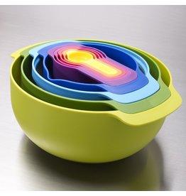 Joseph Joseph Nest 9 Plus Food Food Prep Set Multi Coloured