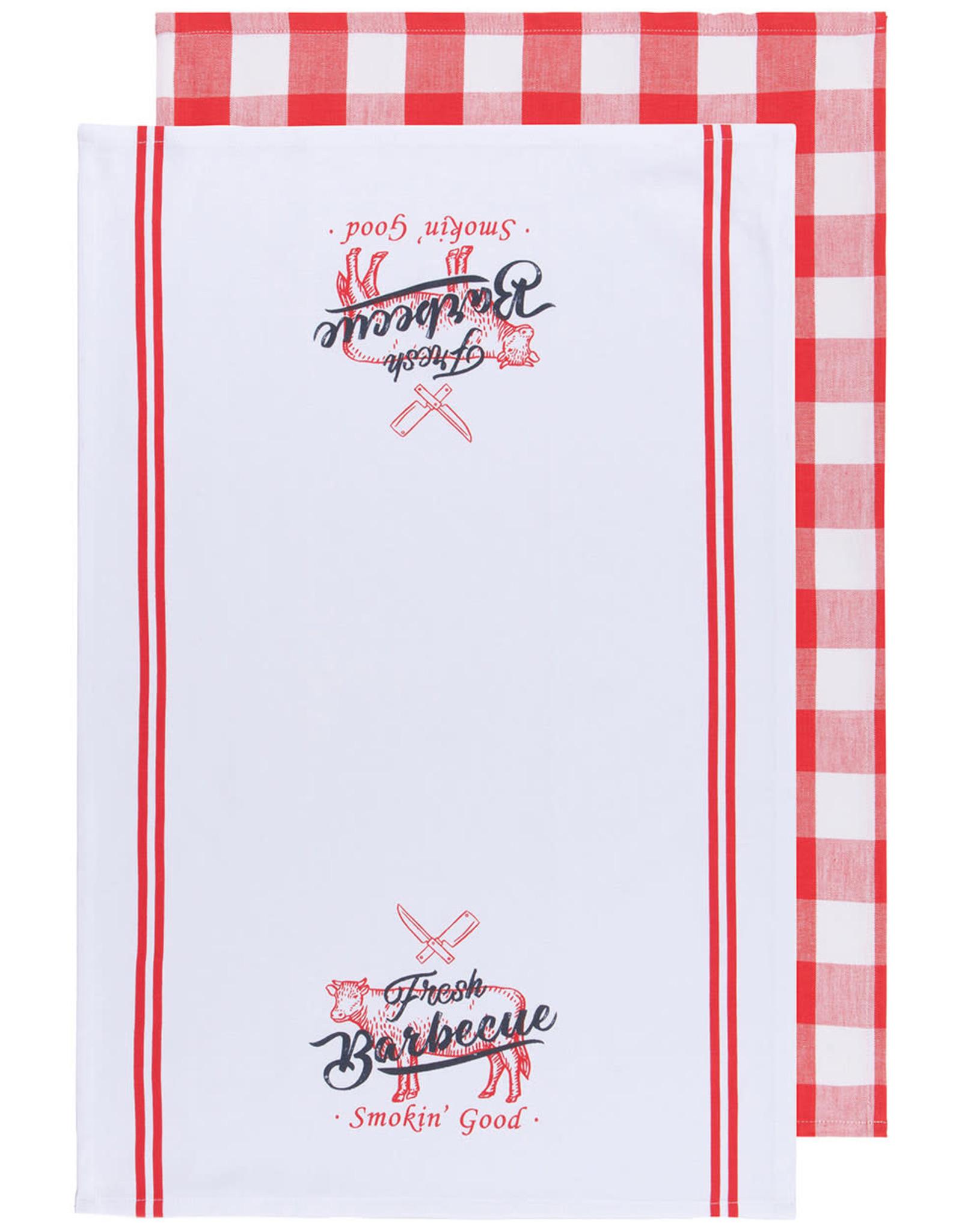 Danica Danica - BBQ Dishtowel - Set of 2