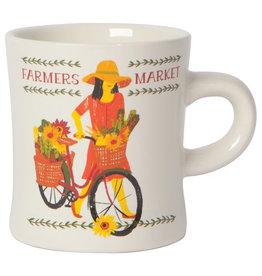 Now Designs Diner Mug - Farmers Market