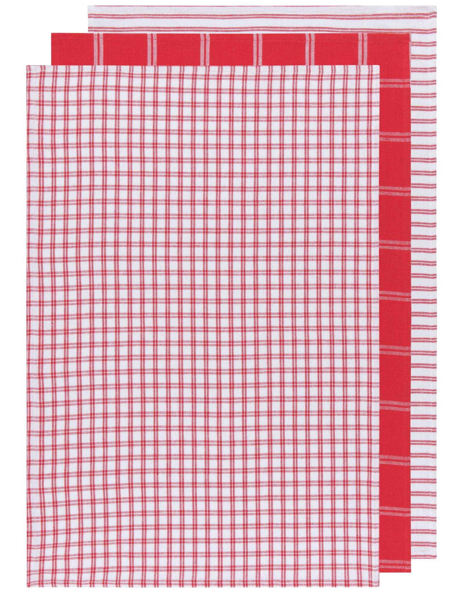 Danica - Tea Towel - Tic Tac Toe Red