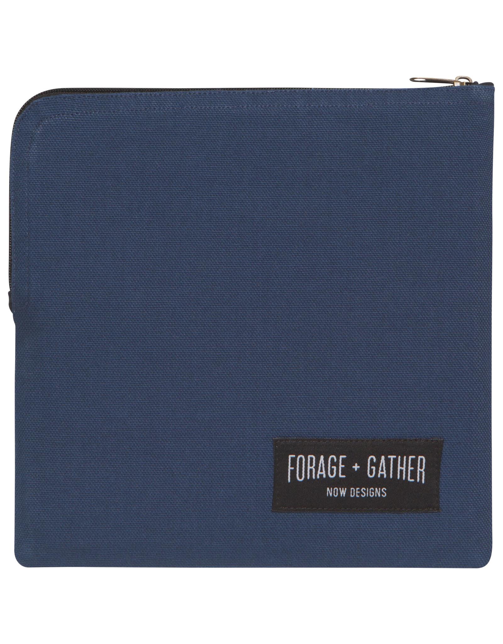 Danica - Forage + Gather Snack Bag - Blue