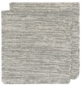 Danica Knit Heirloom Dish Cloth - Set of 2 - Jade