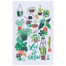 Danica Tea Towel Let it Grow Print