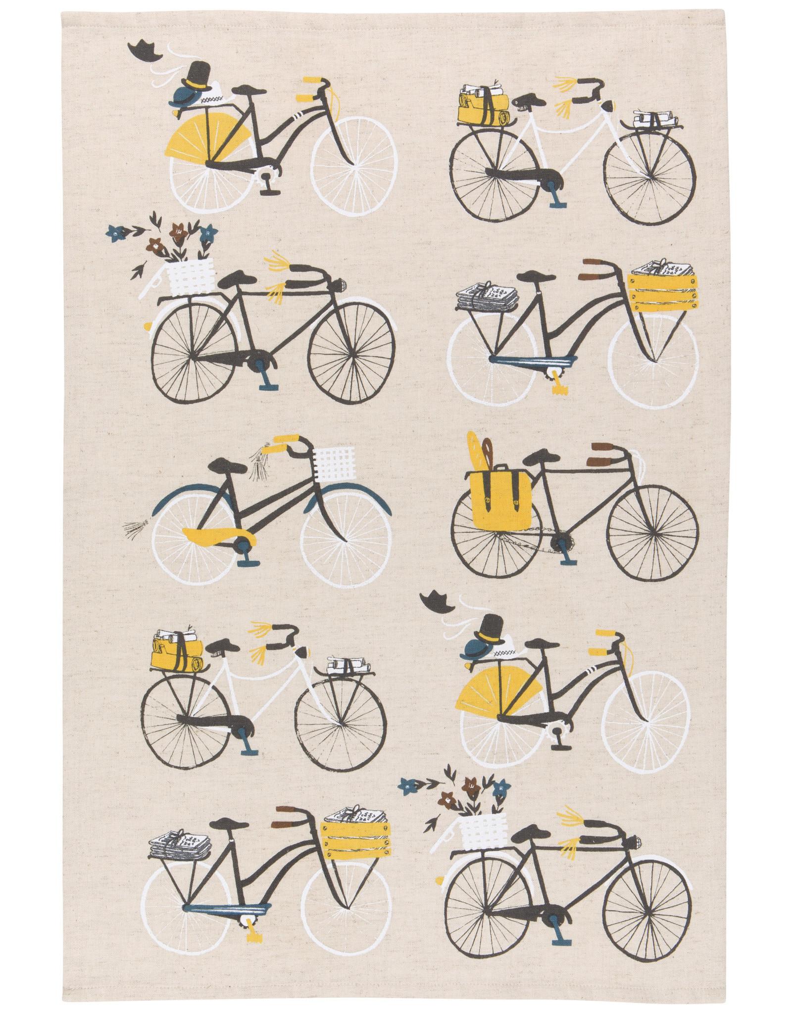 Danica Tea Towel - BicicleTea Towel -a - 2 pack