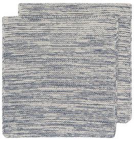 Danica Knit Heirloom Dishcloth - Set of 2 - Midnight