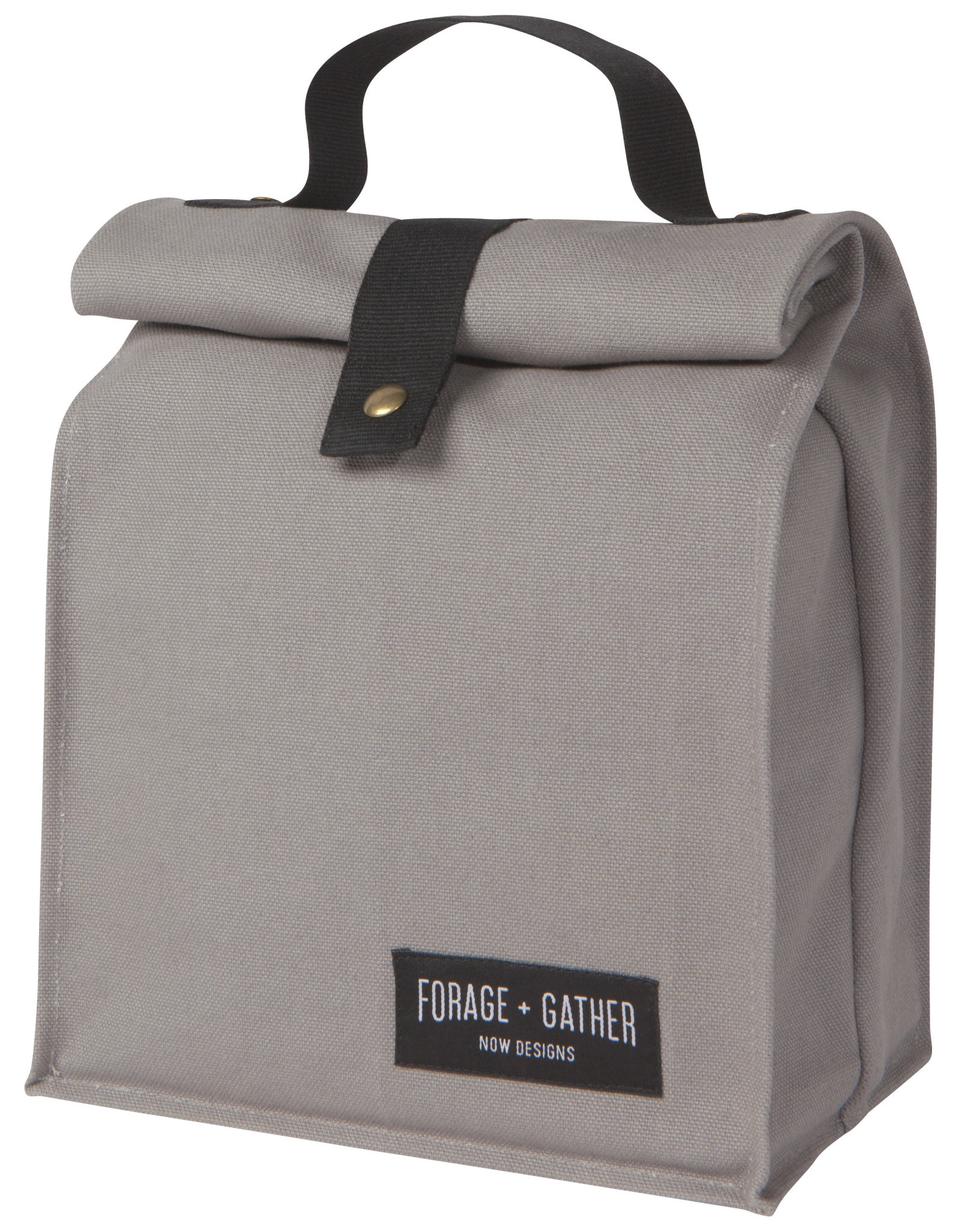 Danica - Forage + Gather Lunch Bag - Gray