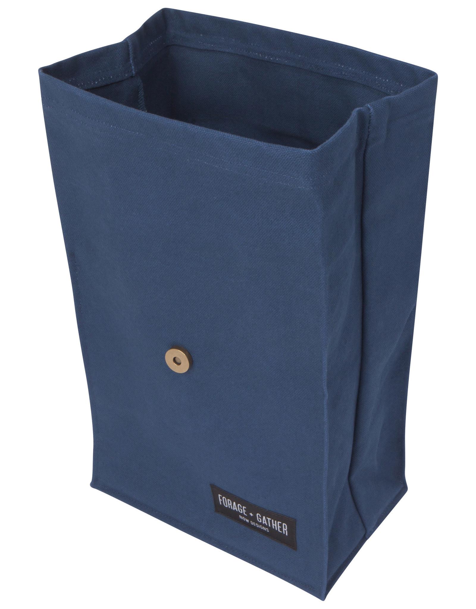 Danica Danica - Forage + Gather Lunch Bag - Blue