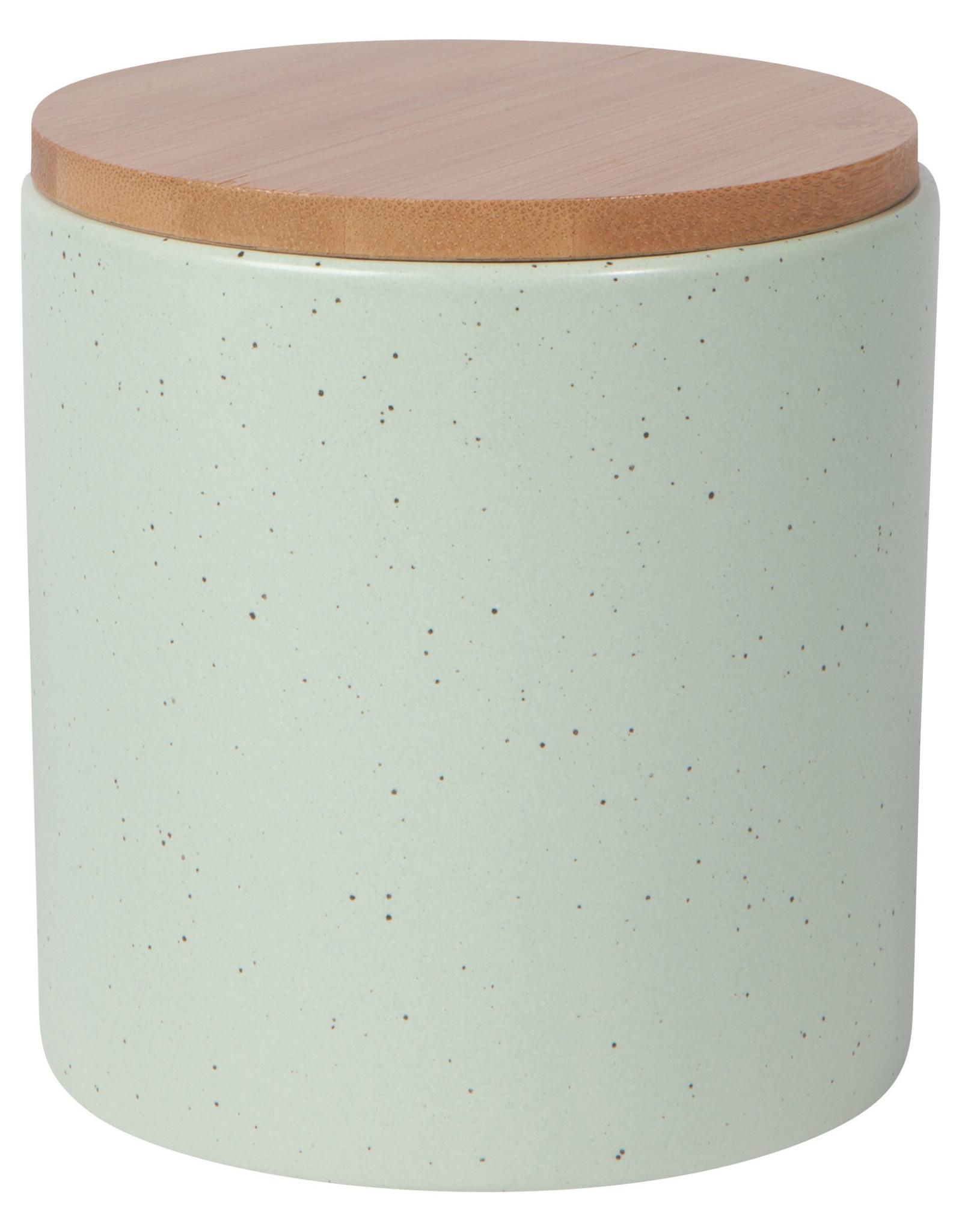 Danica - Stoneware Canister Medium - Seafoam