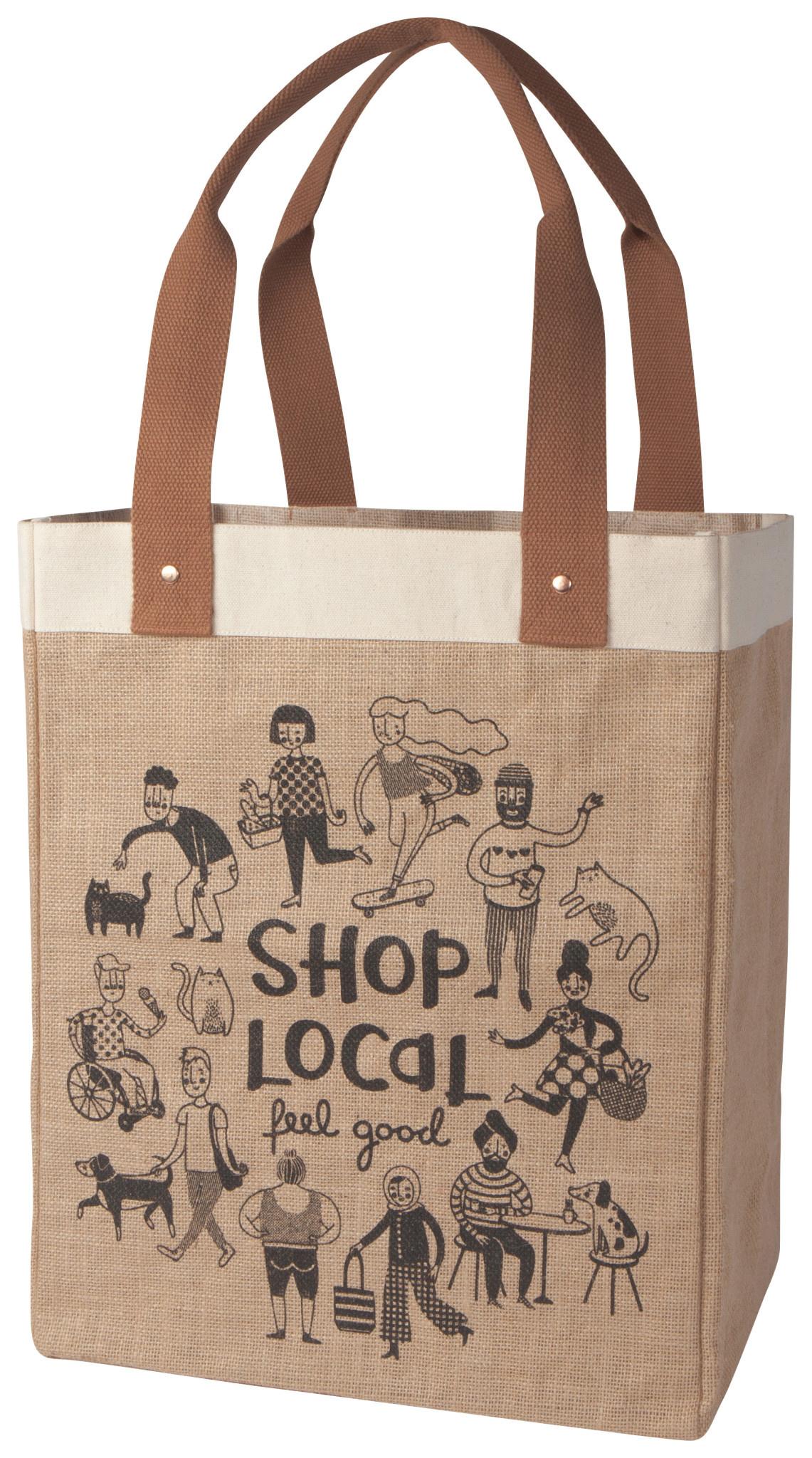 Danica Market Tote - Shop Local