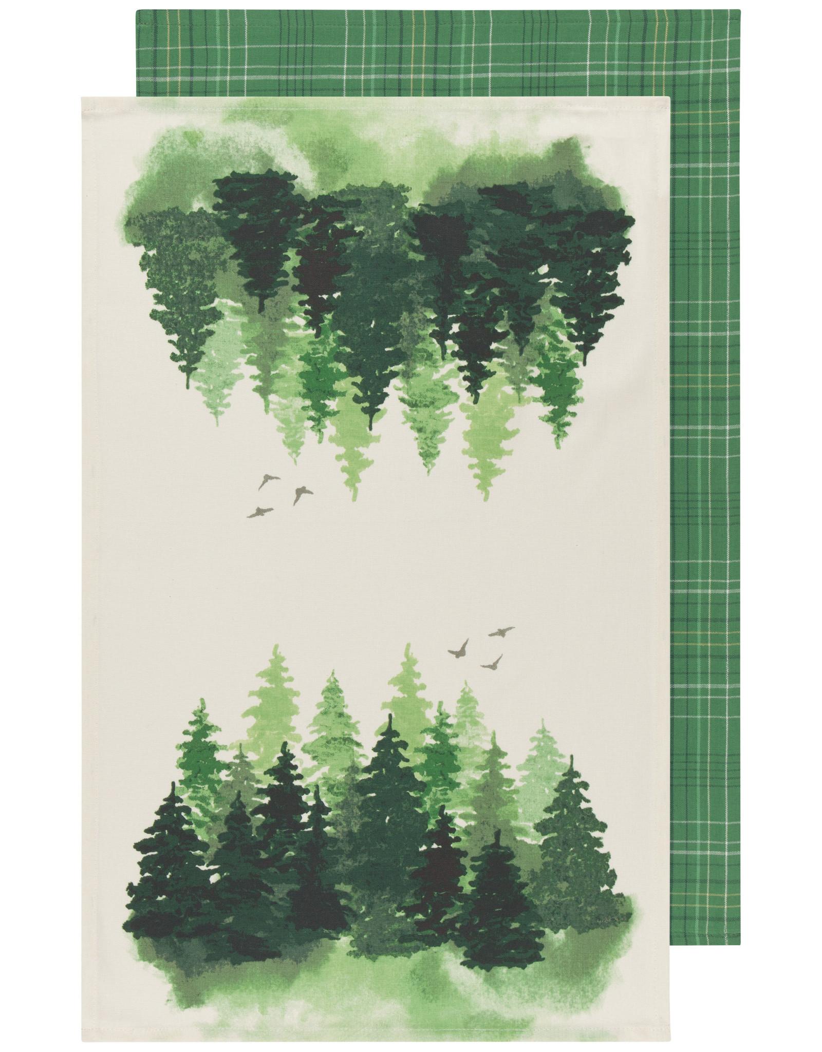 Danica Tea Towel - set of 2 Woods