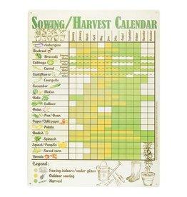 Sowing/Harvest Calendar