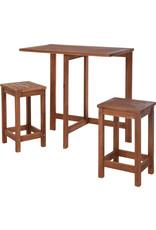 Koopman Balcony Furniture Set Wood(F1)