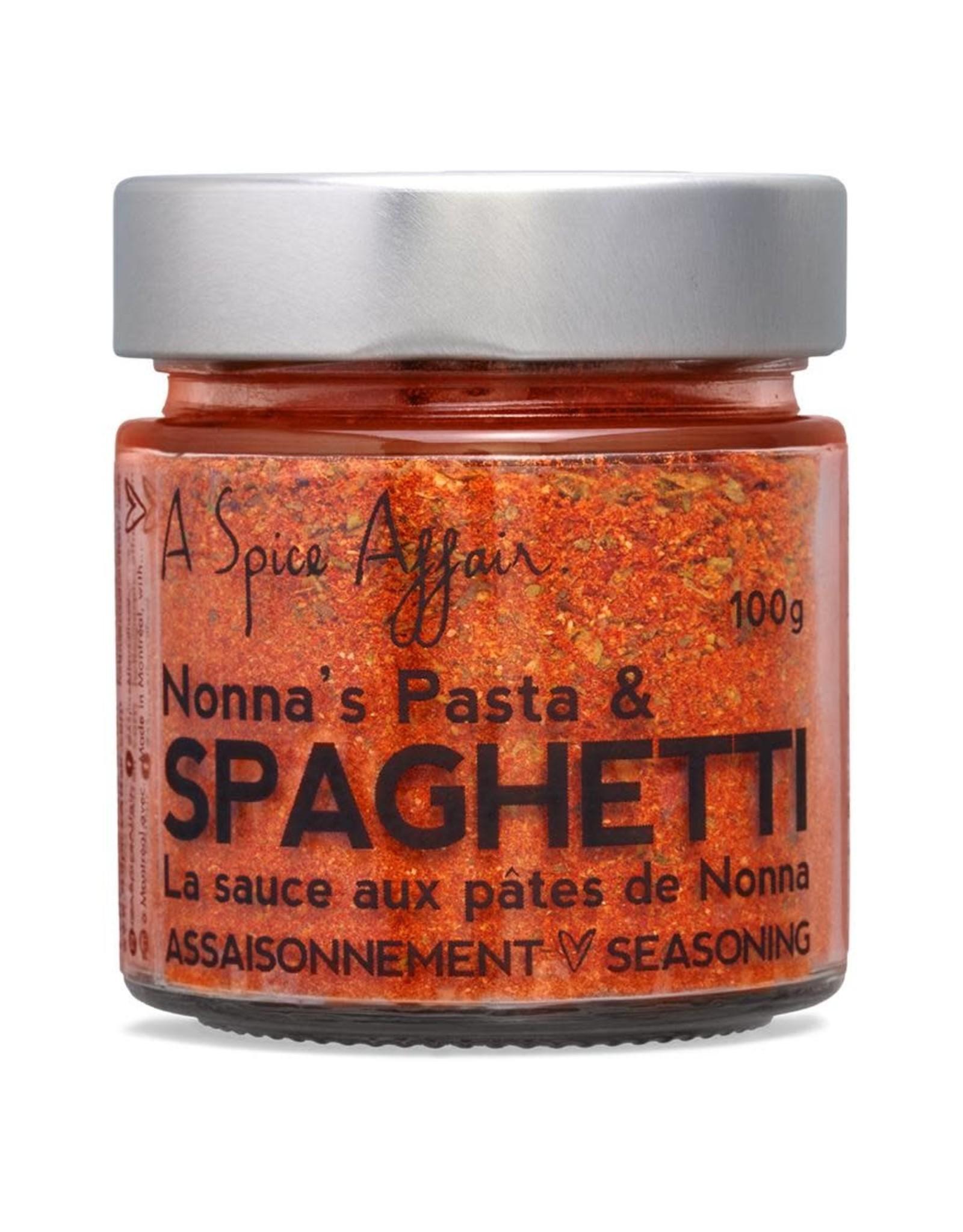 A Spice Affair Spaghetti Nonna's Seasoning