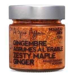 A Spice Affair Zesty Maple Ginger Seasoning