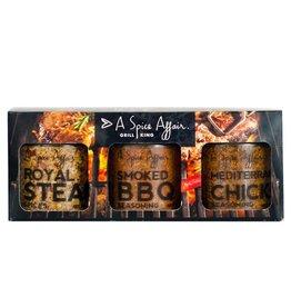 A Spice Affair Grill King (BBQ Smoked, Chicken Mediterranean, Steak Royal)