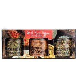 A Spice Affair Nonna's Kitchen (Bruschetta, Spaghetti, Tuscan)