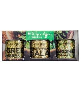 A Spice Affair Veggies & Co. (Jardiniere, Greek Herbs, Med. Salad)