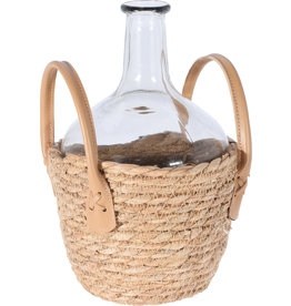 Koopman Vase Glass Transparent