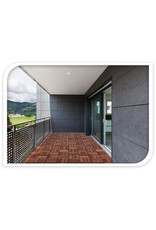Koopman Decking Tiles Set 9Pcs 30X30Cm