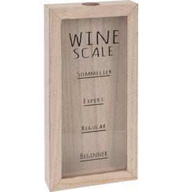 Koopman Wine Cork Holder - Wine Scale