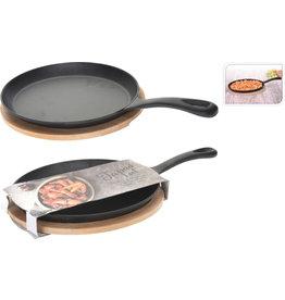 Koopman Tapas Dish Cast Iron Oval 24Cm