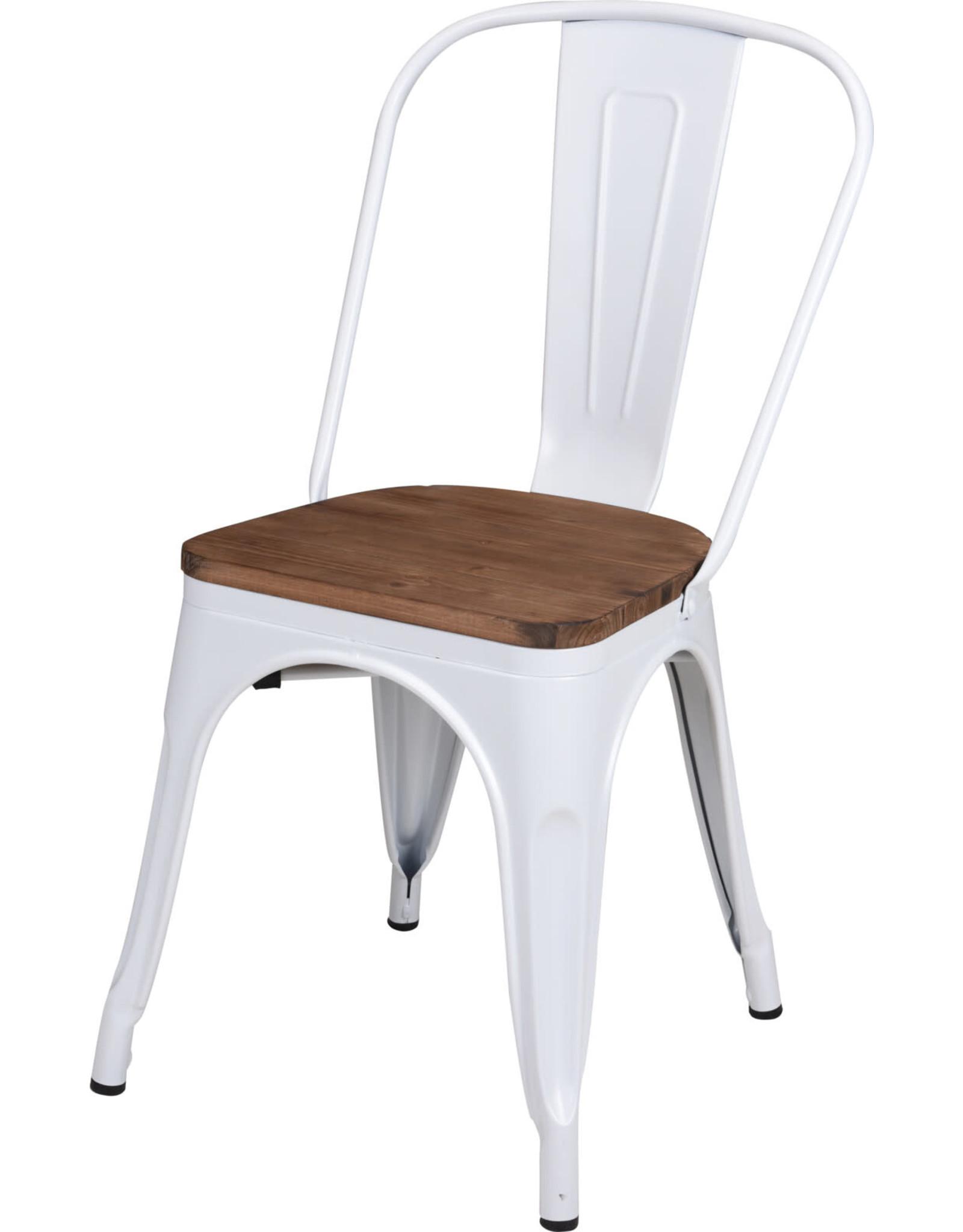 Koopman Chair Metal White 360Xh843Mm