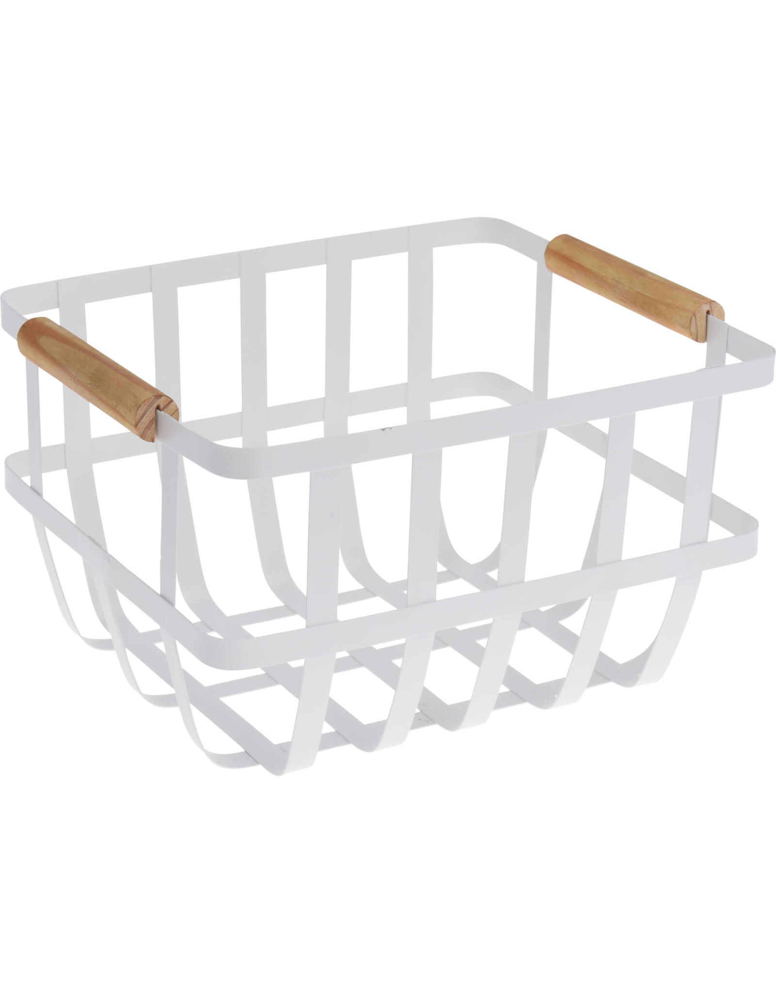 Koopman Basket Metal 27X22X16Cm