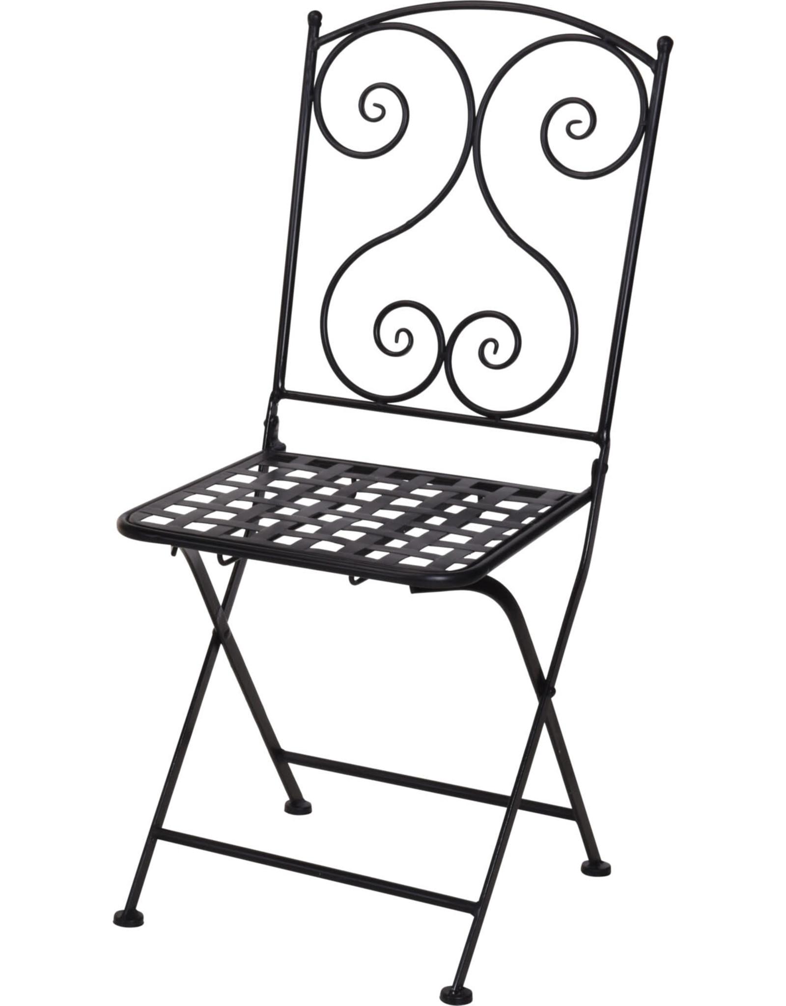 Koopman Bistro Chair Black Mosaic
