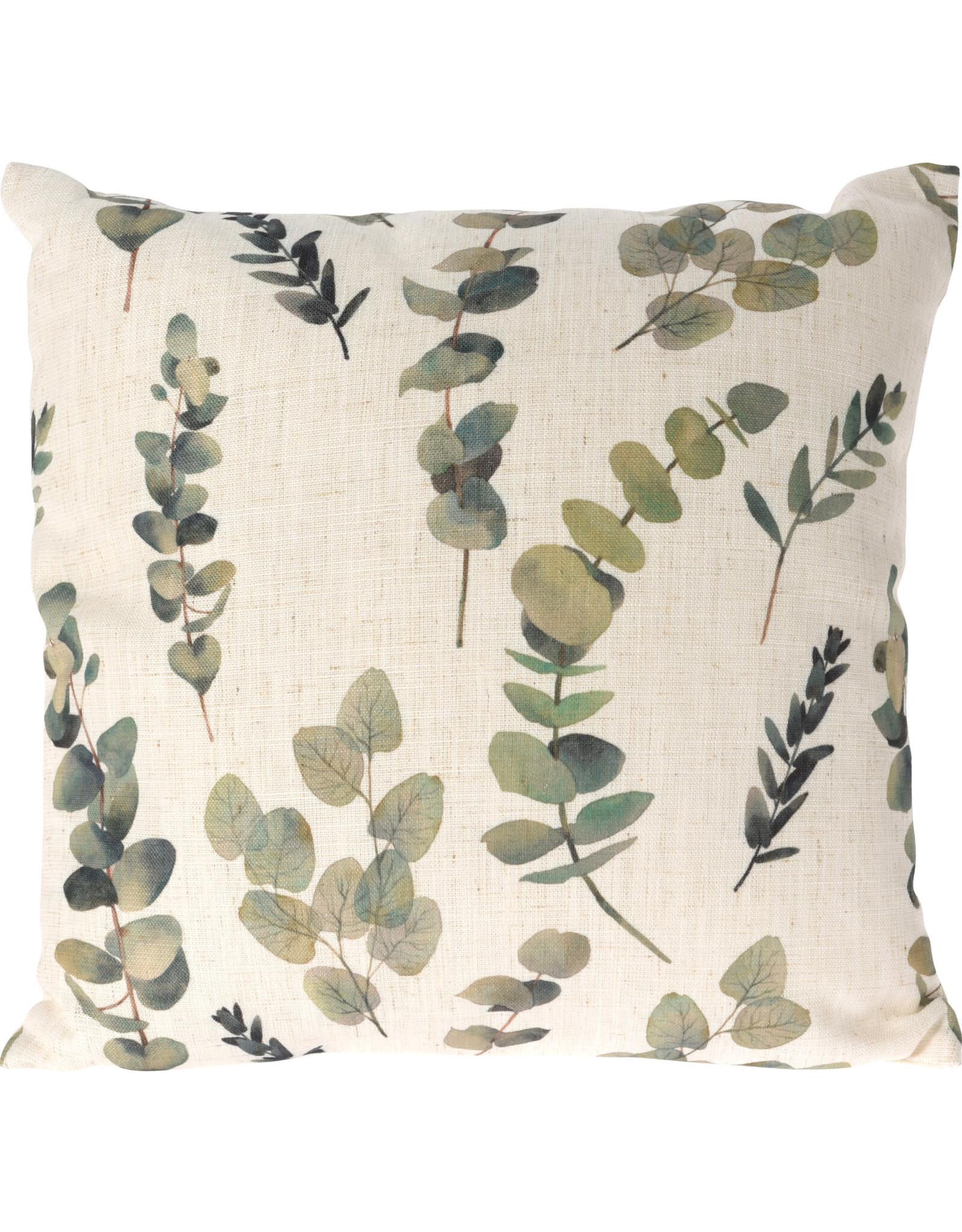 Koopman Cushion 45X45Cm Eucalyptus
