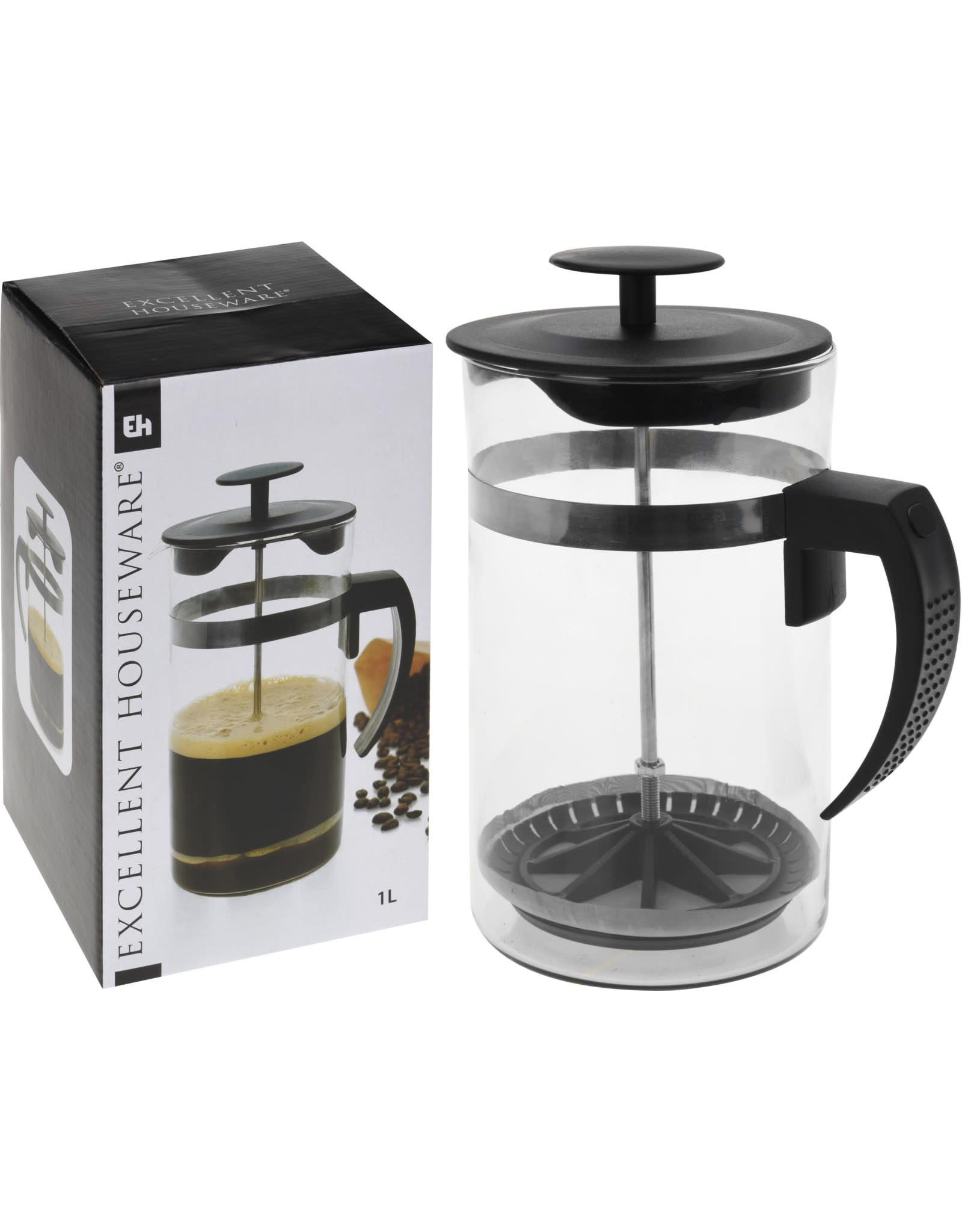 Koopman Coffee Maker Glass 1Ltr