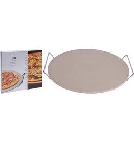Koopman Pizza Baking Stone With Holder