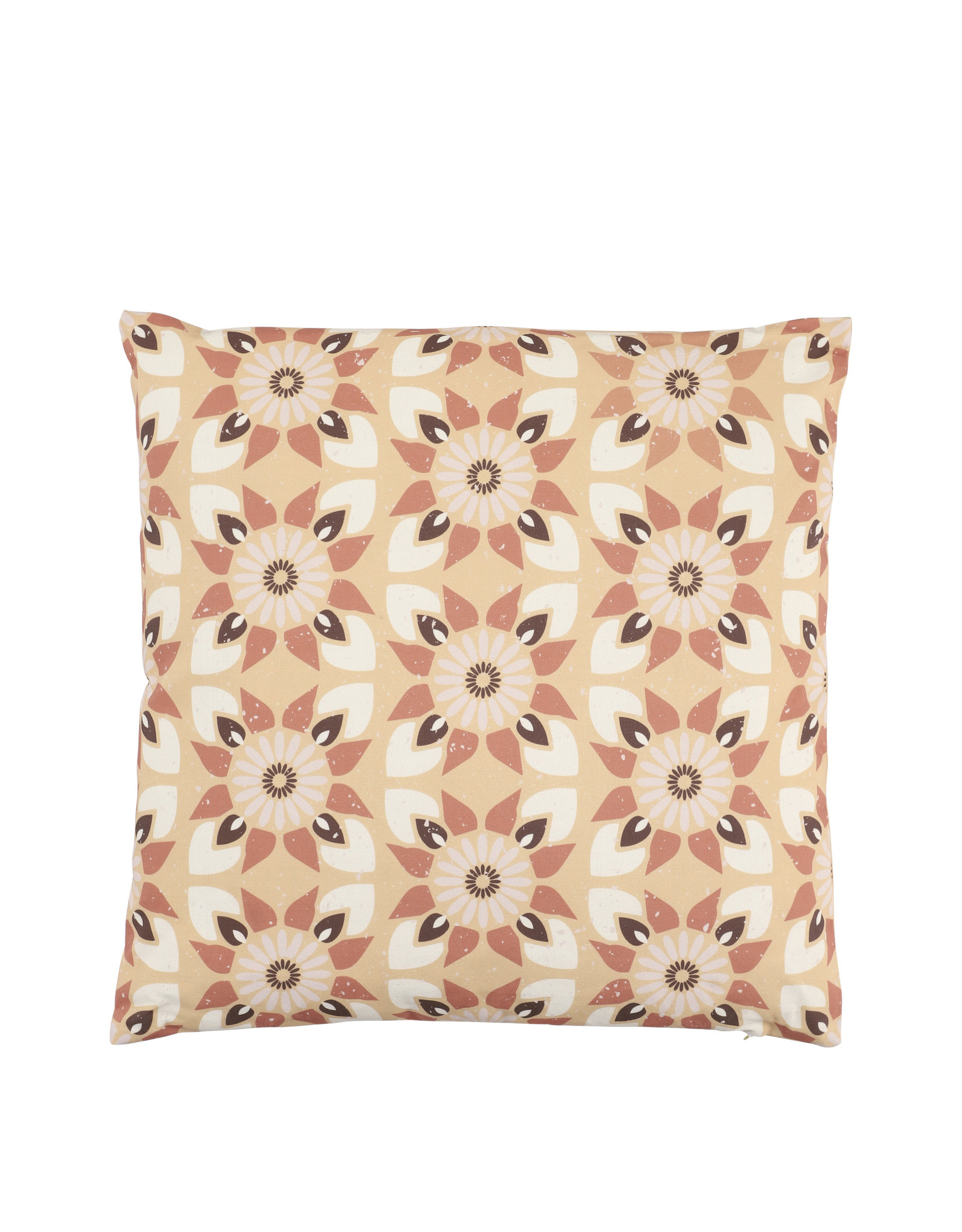 Mica Canea - Outdoor Pillow - Brown - l45xw45cm