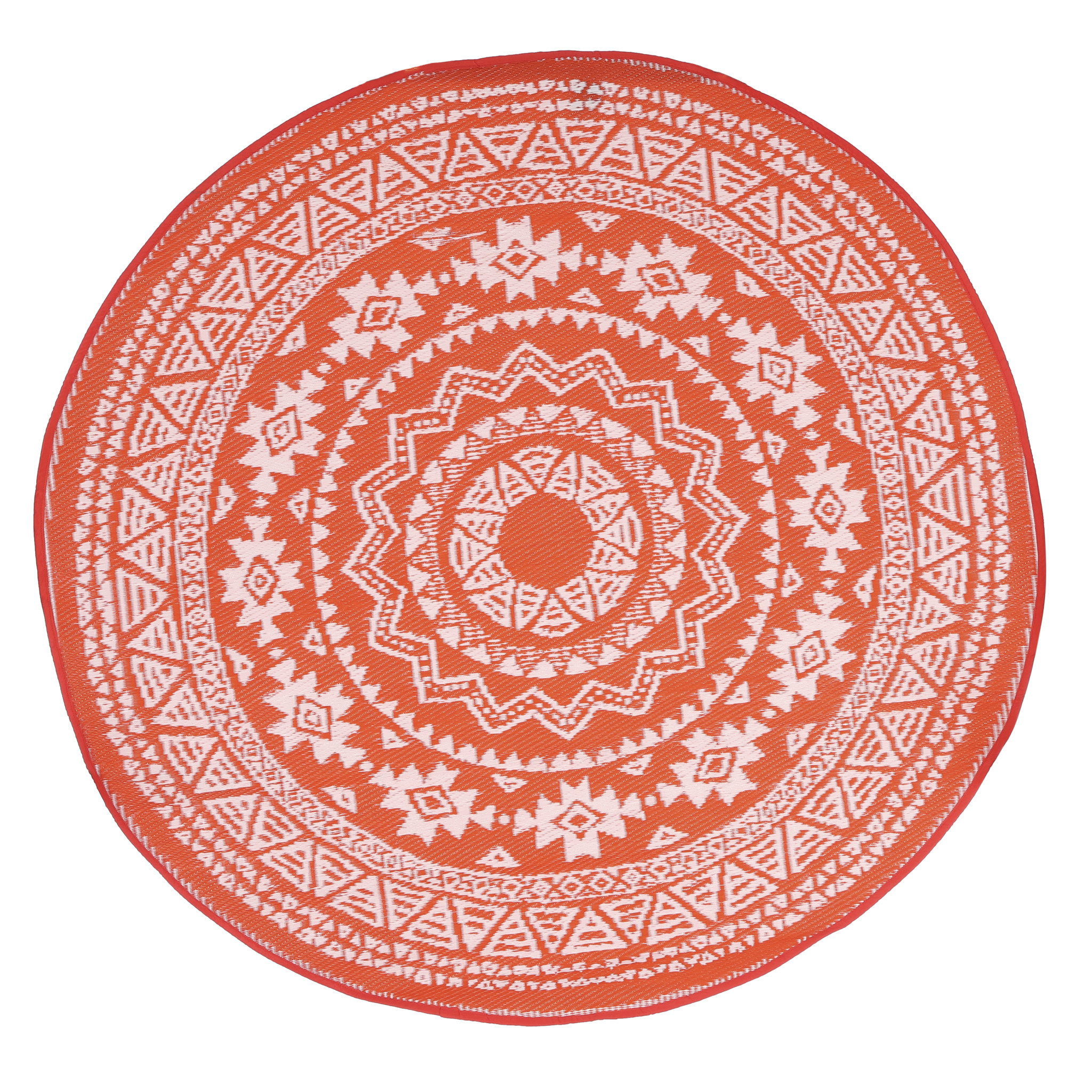 Mica Debby Rug Round Recycled Plastic