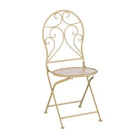 Mica Yentl Chair - Yellow - l40xw40xh92cm