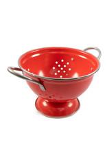 Danica - Small Red Metal Colander